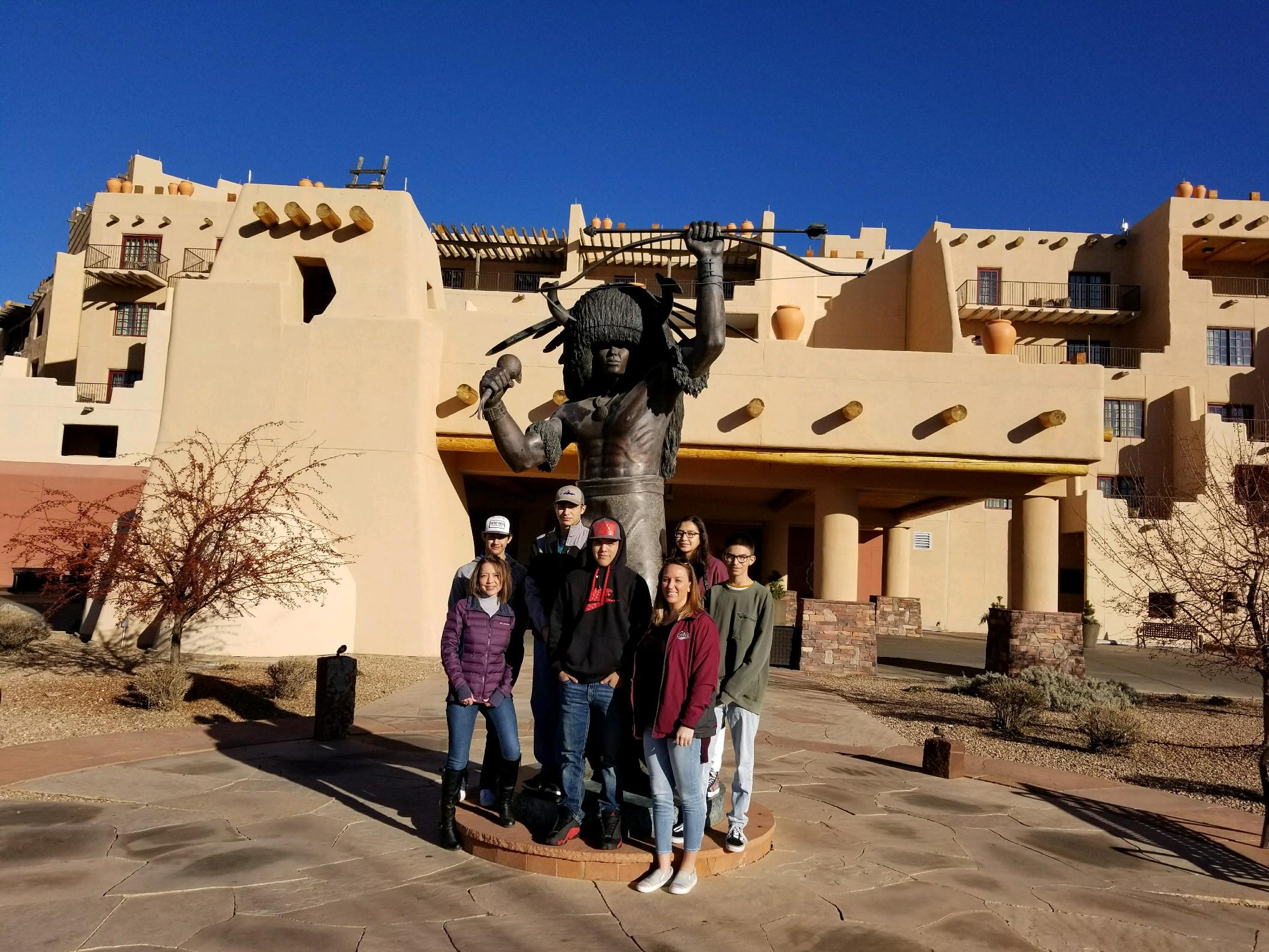 College Tour Southwestern Indian Polytechnic Institute